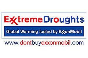 Parody of ExxonMobil logo designed by St Leger...