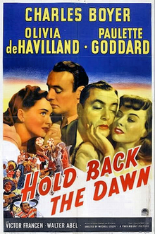 Hold Back The Dawn - 1941 - poster.png