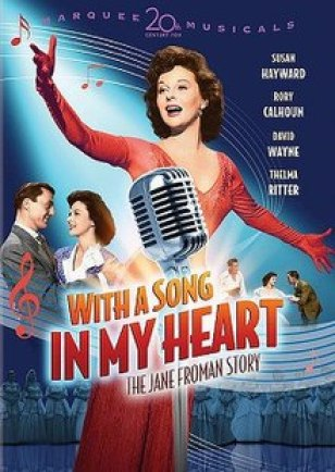 Image result for with a song in my heart poster