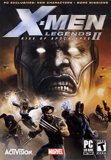 x men legends ii