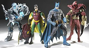 DC Superheroes Series 3. Left to right: Mr. Fr...