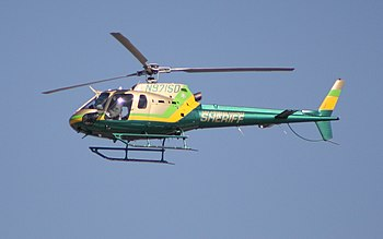 Los Angeles County Sheriffs AS350