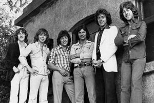 The Miami Showband lineup in early 1975 L-R: T...