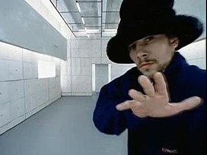 """Jay Kay in the """"Virtual Insanity"""" mu..."""
