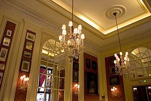 The Café's Interior