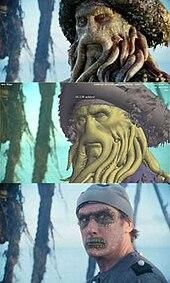 Davy Jones Pirates Des Caraibes : jones, pirates, caraibes, Jones, (character), Wikipedia