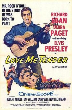 Love Me Tender (1956 film)