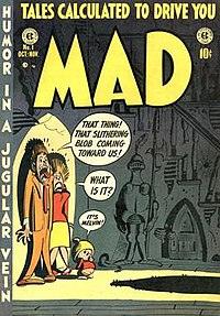 The first issue of Mad.