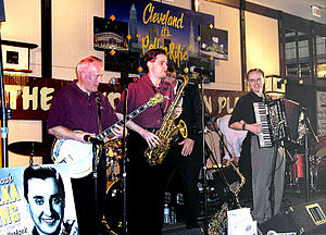 The Mike Schneider Polka Band performing at To...
