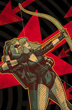 Image result for Green Arrow and Black Canary comic