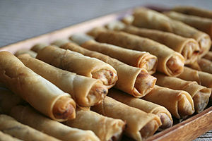 Fried Chinese Egg Rolls