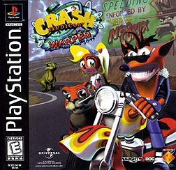 Crash Bandicoot Warped Cover