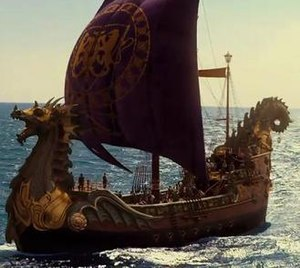 The Dawn Treader as featured in the 2010 film ...