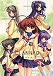 The girls of Clannad: Tomoyo (top-left), Kotom...
