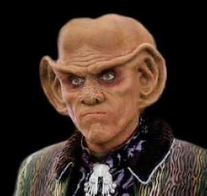 Quark, a Ferengi in DS9