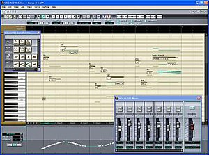 Screenshot of the software interface for Vocal...
