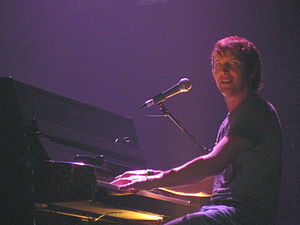 "English: James Blunt performing ""Goodbye ..."