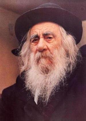 Rabbi Yaakov Yisrael Kanievsky (1899-1985)