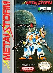 Metal Storm video game  Wikipedia
