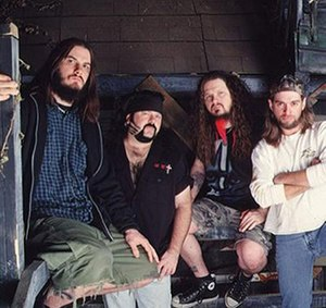 Pantera circa 2000. Left to right: Phil Anselm...