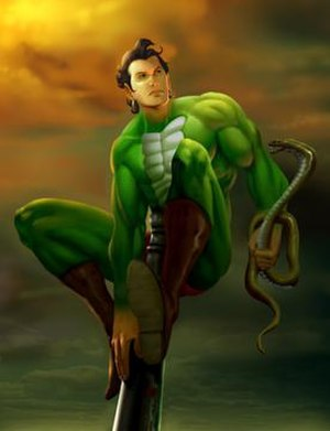 Nagraj in Promotional art