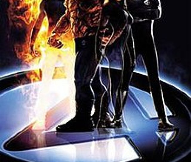 The Four Mr Fantastic The Thing The Invisble Woman And The Human