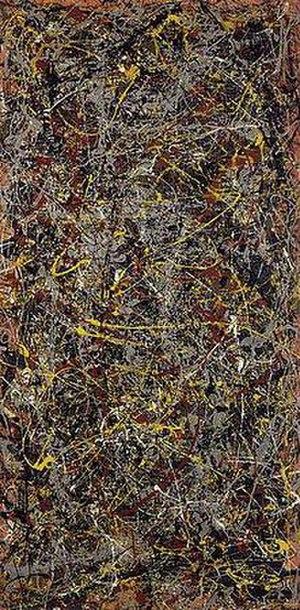 Jackson Pollock, No. 5, 1948, oil on fiberboar...