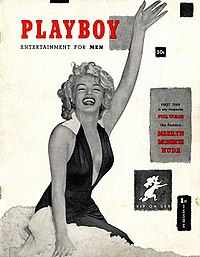 The first issue of Playboy