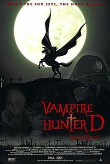 Vampire Hunter D: Bloodlust : vampire, hunter, bloodlust, Vampire, Hunter, Bloodlust, Wikipedia