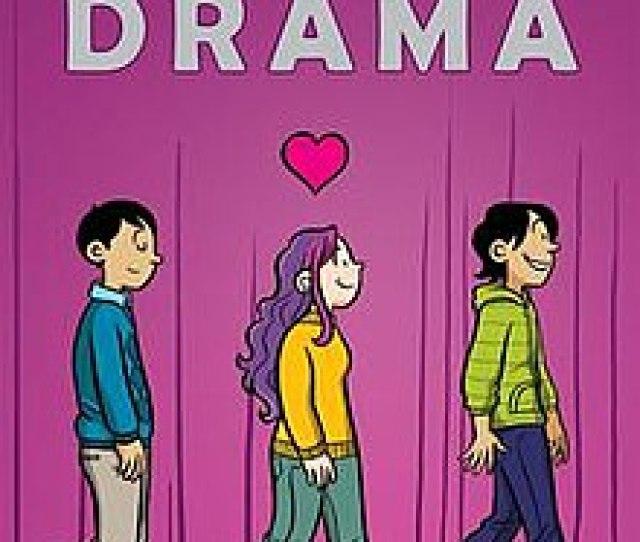 Cover Of Drama Graphic Novel By Raina Telgemeier Jpg