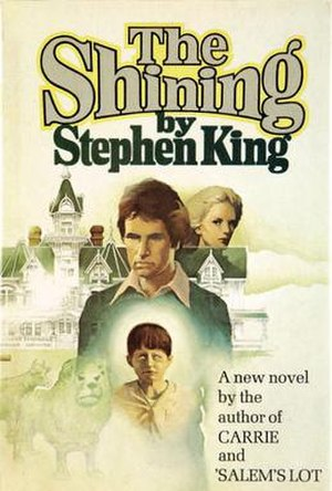 Jack Torrance on the cover of The Shining.