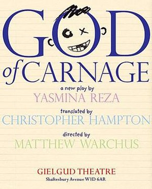 God of Carnage original West End production poster