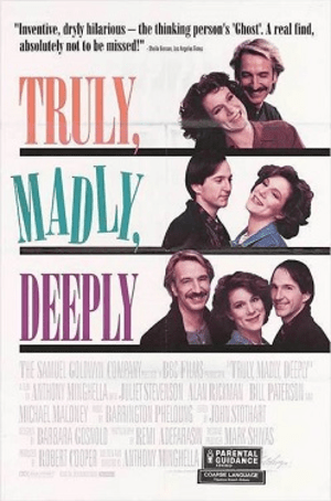 Reproduction movie poster for Truly, Madly, De...