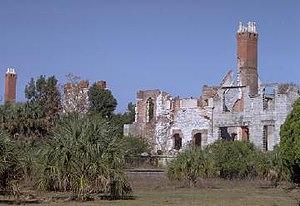 Dungeness-ruins