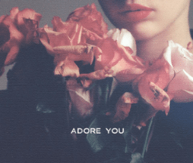 Miley Cyrus Adore You Official Single Cover Png