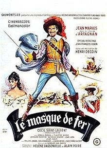 Film L'homme Au Masque De Fer : l'homme, masque, Masque, Wikipedia