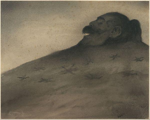 File Alfred Kubin - Dolmen . 1900-1902 Google Art Wikipedia