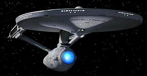 The USS Enterprise - a well known fictional st...