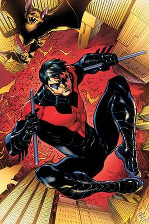 The return of Nightwing. Dick in his fourth co...