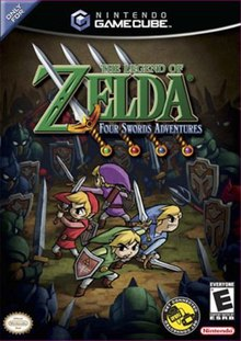The Legend Of Zelda Four Swords Adventures : legend, zelda, swords, adventures, Legend, Zelda:, Swords, Adventures, Wikipedia