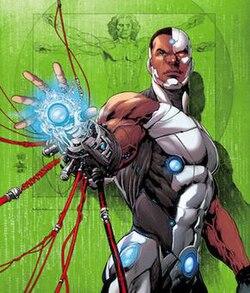 Cyborg Victor Stone Jpg