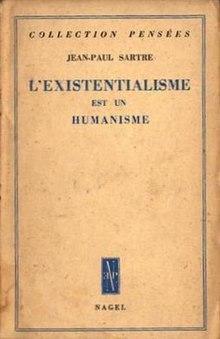 Jean Paul Sartre L Existentialisme Est Un Humanisme : sartre, existentialisme, humanisme, Existentialism, Humanism, Wikipedia