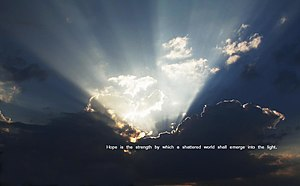Crepuscular rays color-quote