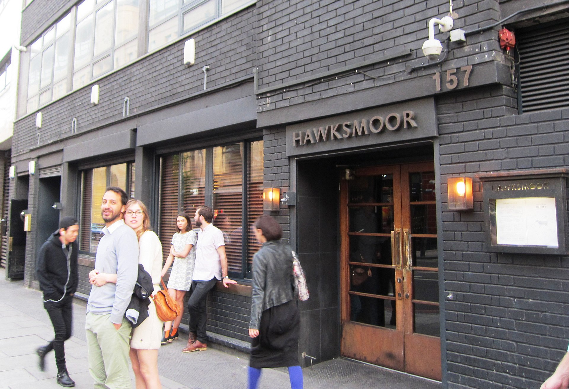 Hawksmoor restaurant  Wikipedia