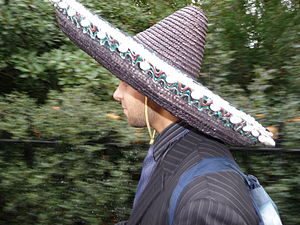 Smart Man in Sombrero
