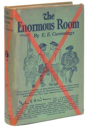 First edition dustjacket of The Enormous Room