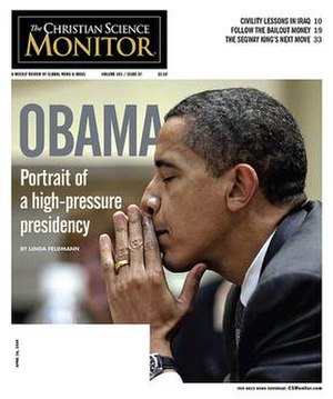 The cove of the Christian Science Monitor for ...