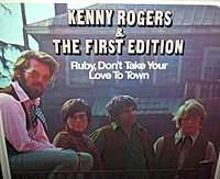 """Ruby, Don't Take Your Love to Town"" cover"