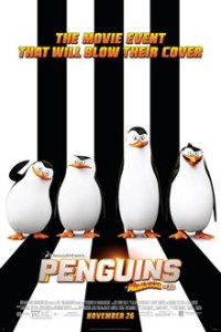 Poster for 2014 animated comedy Penguins of Madagascar