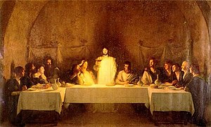 The Last Supper, by Bouveret, 19th century.